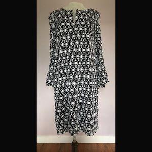 Beautiful Crochet Bell Sleeve Sheath Dress